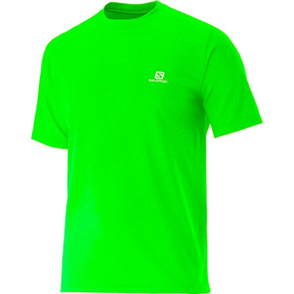 Camisa Corrida Salomon COMET SS Verde  - Loja Prime