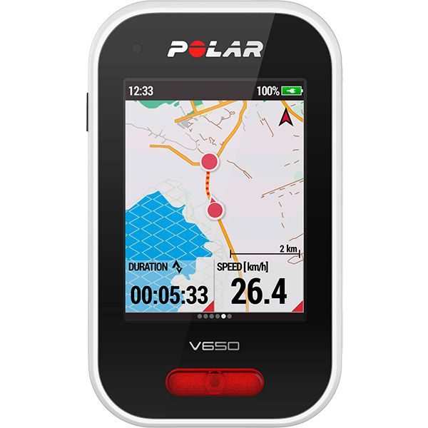 Ciclocomputador c/ GPS Polar V650 Velocímetro  - TREINIT
