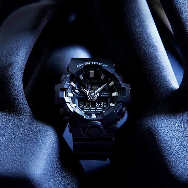 Relógio Casio G-Shock GA-700-1BDR Resistente a choques  - TREINIT