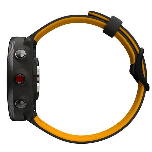 Relógio GPS Multiesportes Monitor Cardíaco de Pulso Polar Vantage M2 Cinza/Amarelo  - TREINIT