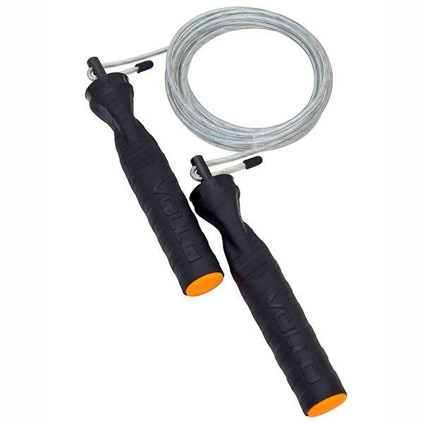 Corda de Pular em Aço com Rolamento - VOLLO - VP1045  - TREINIT