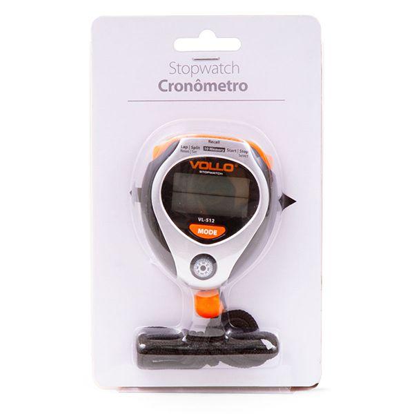 Cronômetro Vollo c/ 10 Memórias e Bússola VL512  - TREINIT