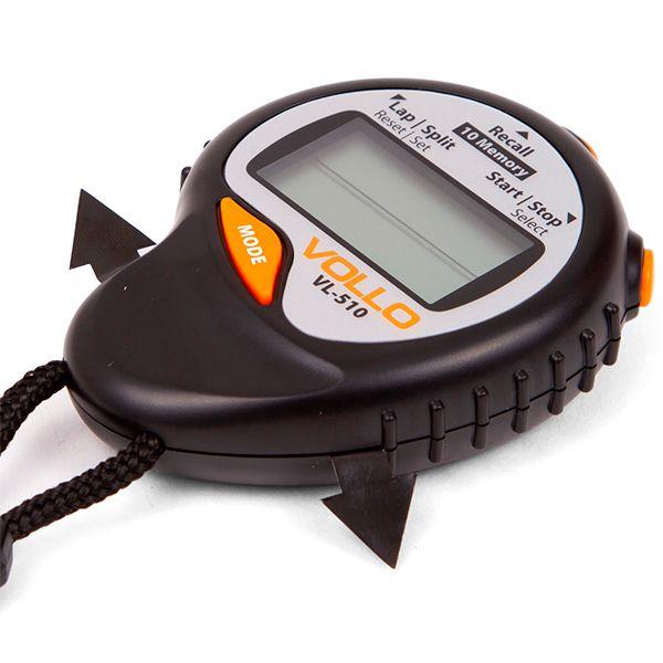 Cronômetro Vollo c/ 10 Memórias VL510  - TREINIT