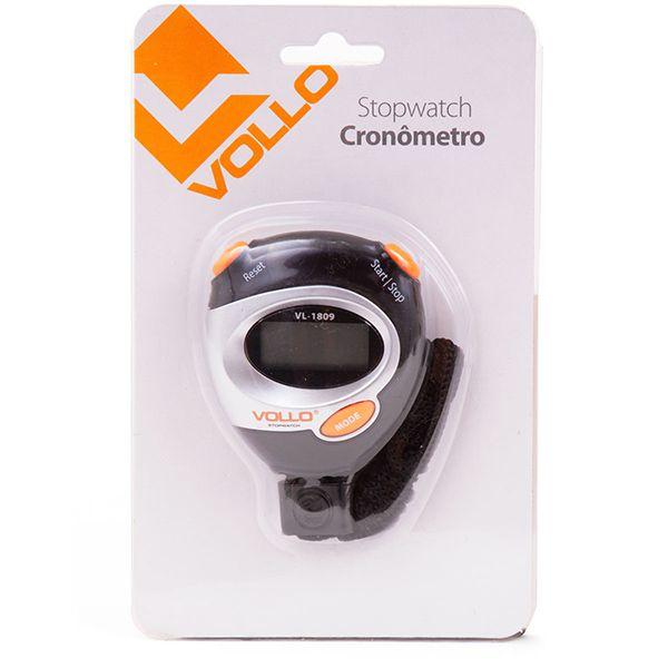 Cronômetro Vollo c/ Hora Data Alarme VL1809  - TREINIT