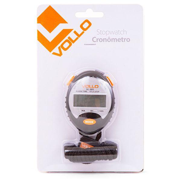 Cronômetro Vollo c/ Hora Data Alarme VL501  - Treinit