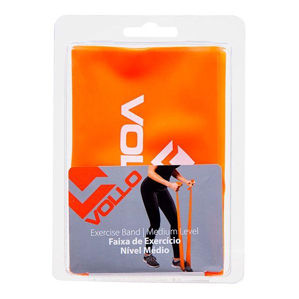 Faixa de Exercício Nível Médio - VOLLO - VP1023  - Treinit
