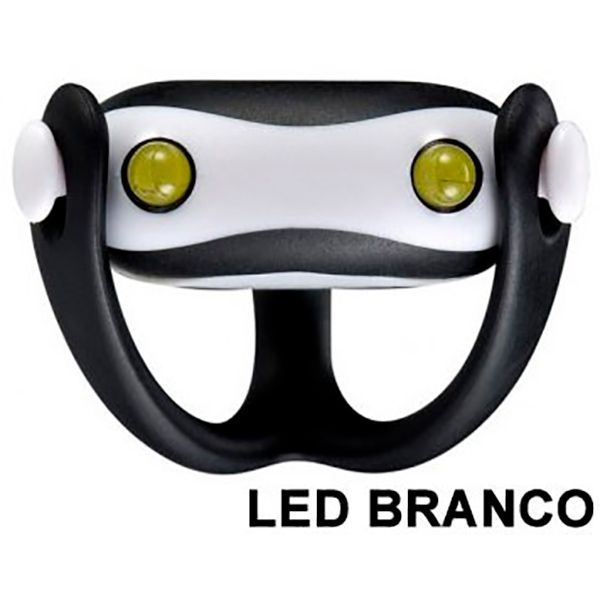 Farol Vista Light Infini I-203W Led Branco WUKONG Preto  - TREINIT