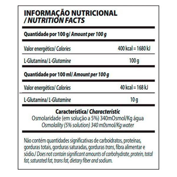GLUTAMINE INTEGRALMÉDICA - 300g GLUTAMINA  - Loja Prime