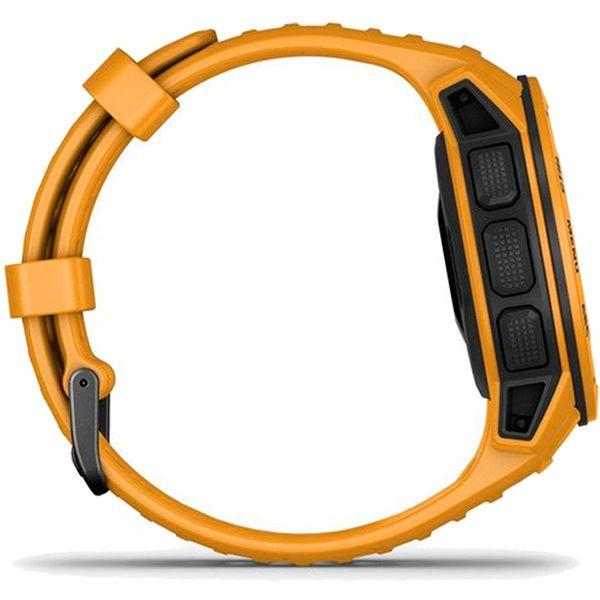Monitor Cardíaco de Pulso com GPS Garmin Instinct Amarelo  - TREINIT