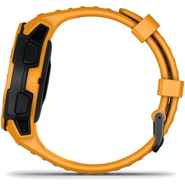 Monitor Cardíaco de Pulso com GPS Garmin Instinct Amarelo  - Loja Prime
