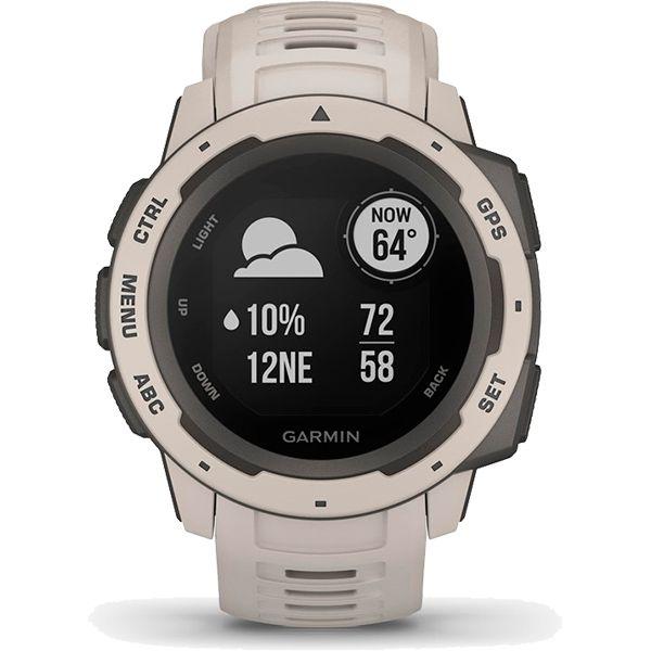 Monitor Cardíaco de Pulso com GPS Garmin Instinct Branco  - Treinit