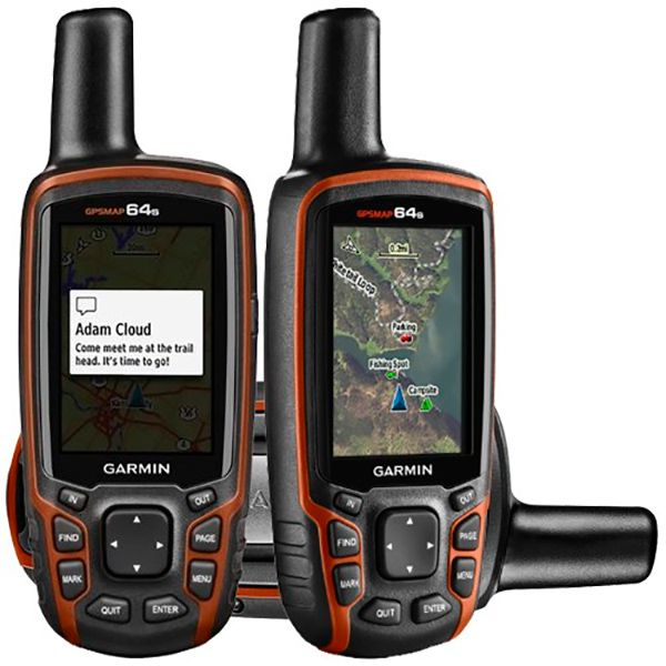 Navegador GPS Garmin GPSMAP 64S - Frete Grátis  - Treinit