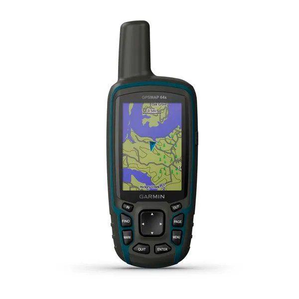 Navegador GPS Garmin GPSMAP 64x Mapa TopoActive América do Sul  - TREINIT