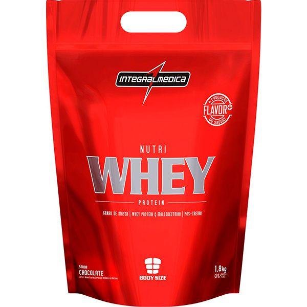 NUTRI WHEY INTEGRALMÉDICA - Chocolate 1,8Kg  - Loja Prime
