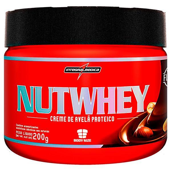 NUTWHEY CREAM INTEGRALMÉDICA - Creme de Avelã Proteico 200g  - Loja Prime