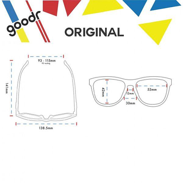 Óculos de Sol Goodr - Running - Iced By Yetis  - Treinit