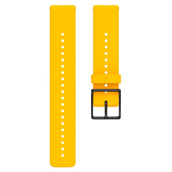 Pulseira de Silicone Polar Ignite Amarela  - TREINIT