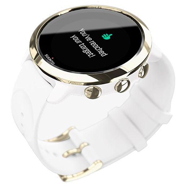 Relógio c/ Monitor Cardíaco no Pulso Suunto 3 Fitness Gold  - TREINIT