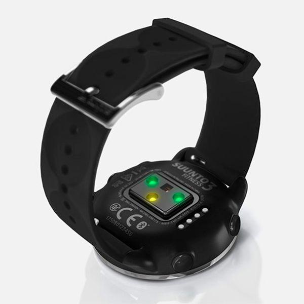 Relógio c/ Monitor Cardíaco no Pulso Suunto 3 Fitness Black  - TREINIT