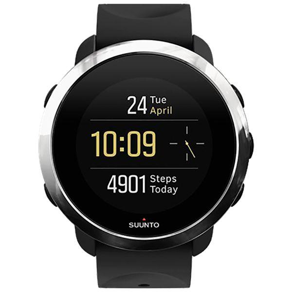 Relógio c/ Monitor Cardíaco no Pulso Suunto 3 Fitness Black  - Loja Prime