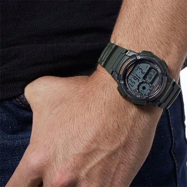 Relógio Casio AE-1000W-3AVDF Bateria 10 Anos  - TREINIT