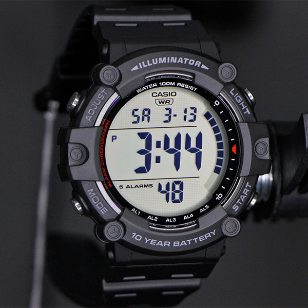 Relógio Casio AE-1500W-1AVDF Bateria 10 Anos  - TREINIT