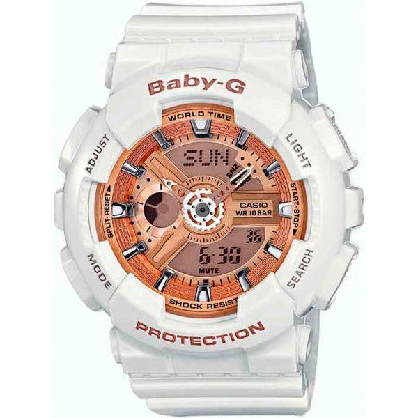 Relógio Feminino Casio Baby-G BA-110-7A1DR Original Garantia  - Treinit