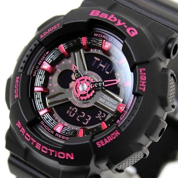 Relógio Feminino Casio Baby-G BA-111-1ADR Original Garantia  - TREINIT