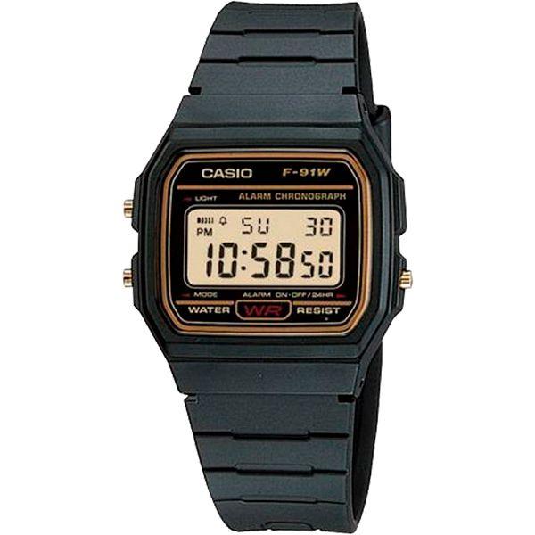 Relógio Casio F-91WG-9QDF Alarme Cronômetro  - TREINIT