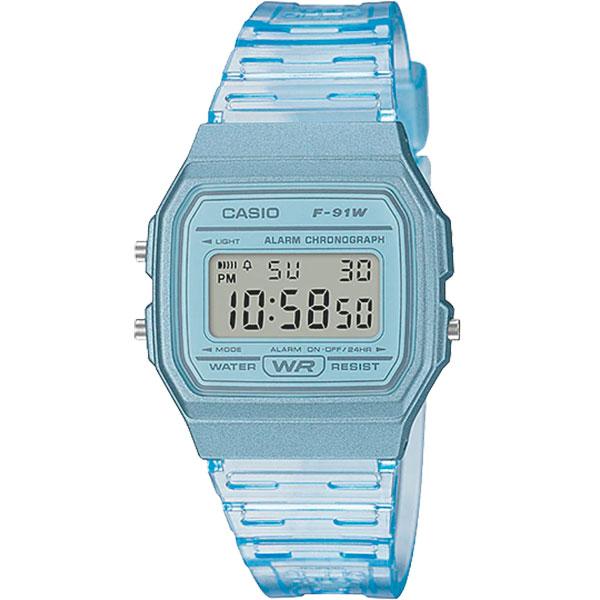 Relógio Casio F-91WS-2DF Alarme Cronômetro  - TREINIT