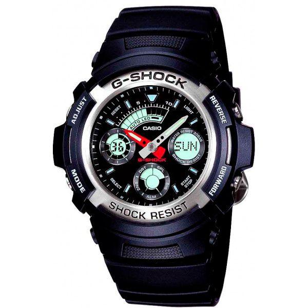 Relógio Casio G-Shock AW-590-1ADR Resistente a choques  - Loja Prime