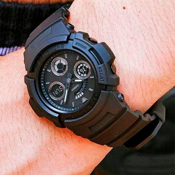 Relógio Casio G-Shock AW-591BB-1ADR Resistente a choques  - TREINIT