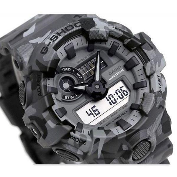 Relógio Casio G-Shock Camuflado GA-700CM-8ADR Resistente a choques  - Treinit