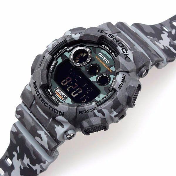 Relógio Casio G-Shock Camuflado GD-120CM-8DR Resistente a choques  - TREINIT