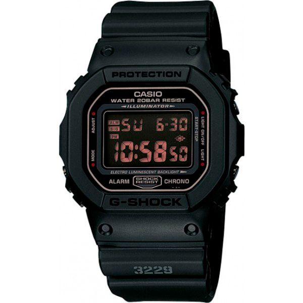 Relógio Casio G-Shock DW-5600MS-1DR Resistente a choques  - TREINIT
