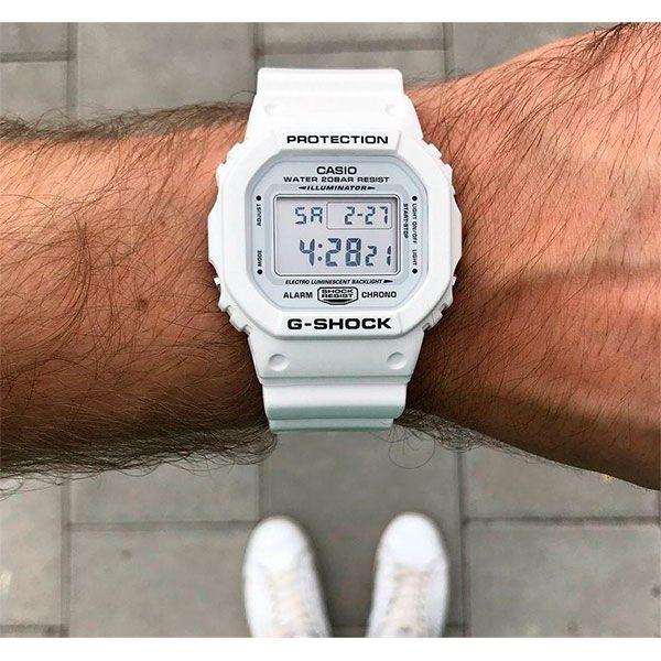 Relógio Casio G-Shock DW-5600MW-7DR Resistente a choques  - TREINIT