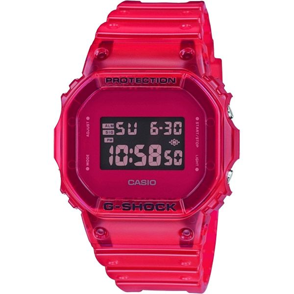 Relógio Casio G-Shock DW-5600SB-4DR Resistente a choques  - Treinit