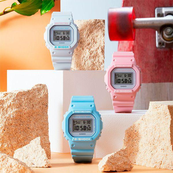 Relógio Casio G-Shock DW-5600SC-2DR Resistente a choques  - Treinit
