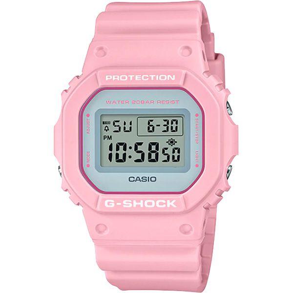 Relógio Casio G-Shock DW-5600SC-4DR Resistente a choques  - TREINIT