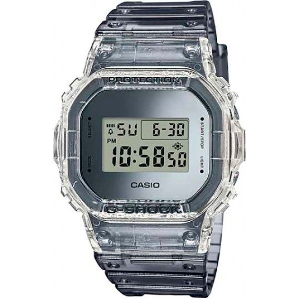 Relógio Casio G-Shock DW-5600SK-1DR Skeleton Resistente a choques  - Loja Prime