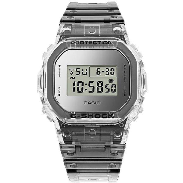 Relógio Casio G-Shock DW-5600SK-1DR Skeleton Resistente a choques  - Treinit