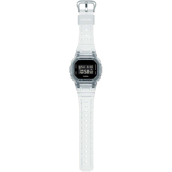 Relógio Casio G-Shock DW-5600SKE-7DR Série Transparent Pack  - TREINIT