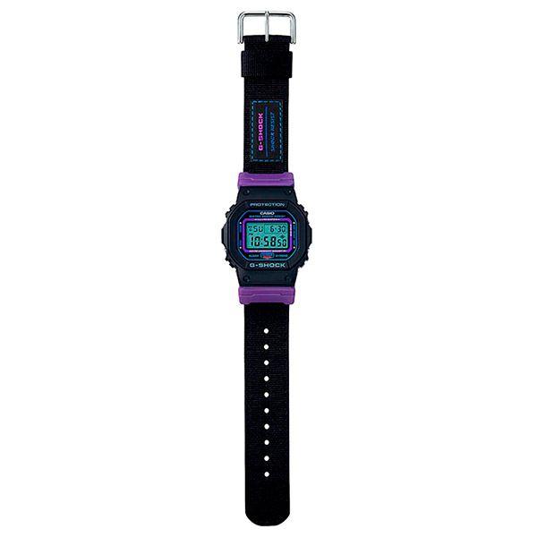 Relógio Casio G-Shock DW-5600THS-1DR c/ 2 Pulseiras  - Treinit