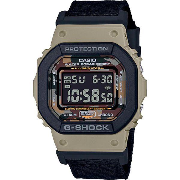 Relógio Casio G-Shock DW-5610SUS-5DR c/ 2 Pulseiras  - TREINIT
