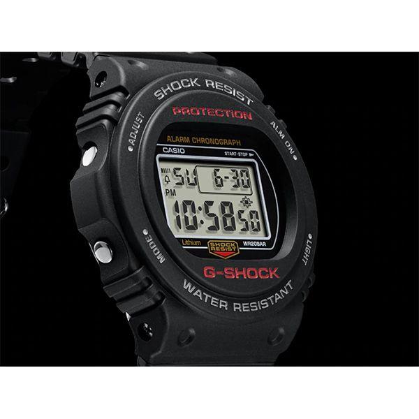 Relógio Casio G-Shock DW-5750E-1DR Resistente a choques  - TREINIT