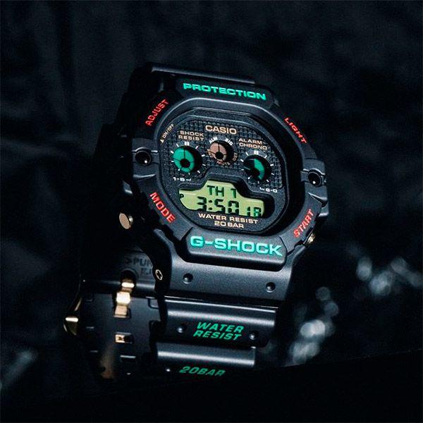 Relógio Casio G-Shock DW-5900TH-1DR Revival Resistente a choques  - TREINIT