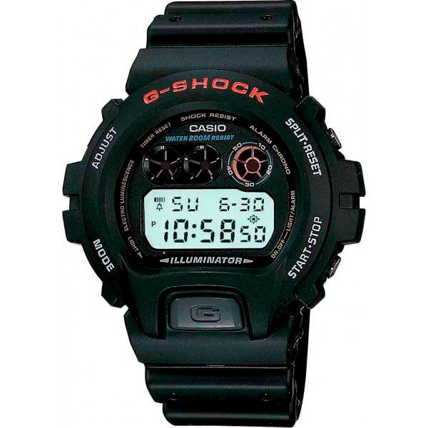 Relógio Casio G-Shock DW-6900-1VDR Resistente a choques  - Loja Prime