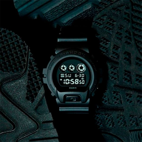 Relógio Casio G-Shock DW-6900BB-1DR Resistente a choques  - Loja Prime