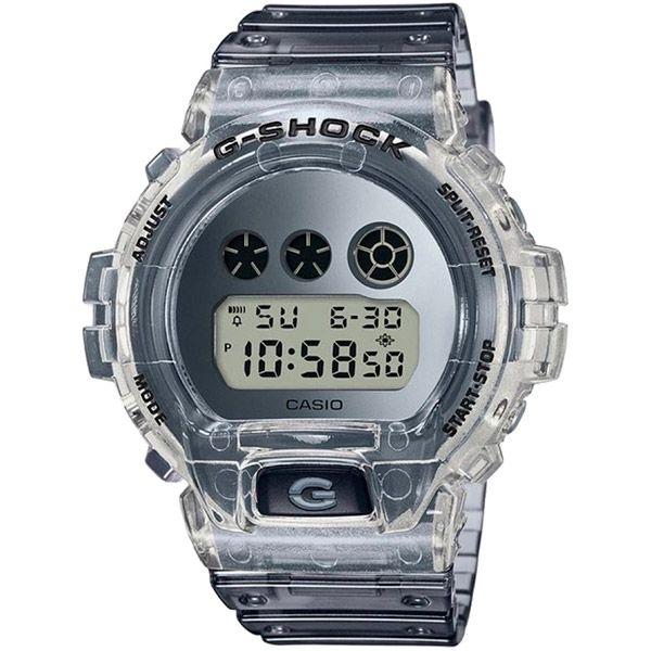 Relógio Casio G-Shock DW-6900SK-1DR Skeleton Resistente a choques  - TREINIT