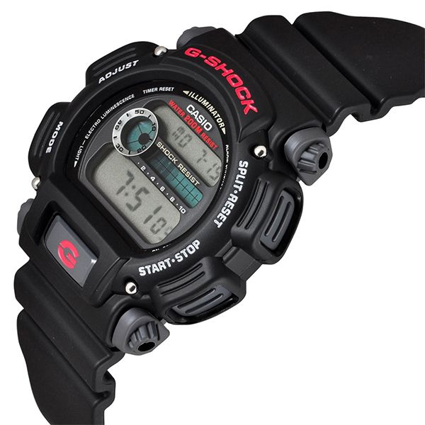 Relógio Casio G-Shock DW-9052-1VDR Resistente a choques  - TREINIT